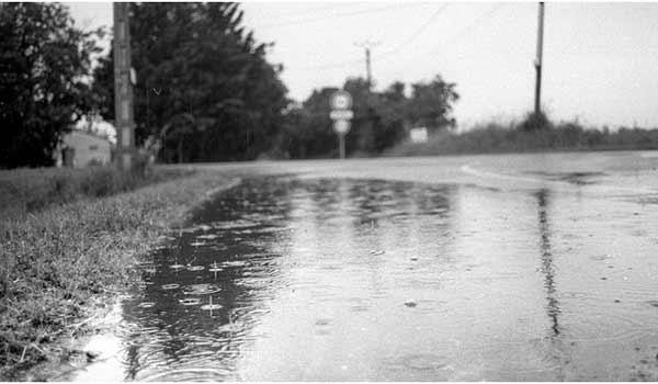 la bretgane sous la pluie