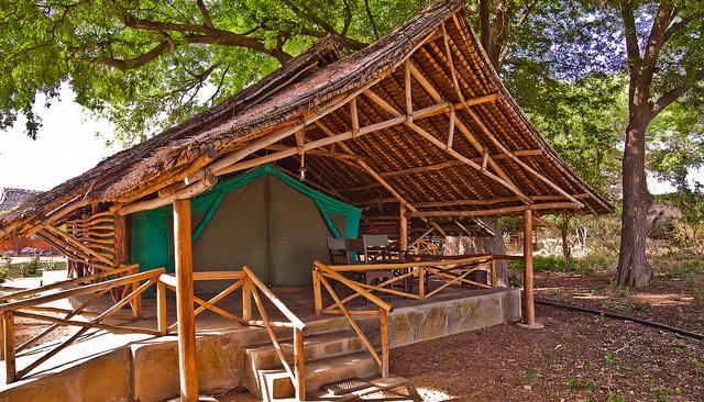 cabane de camping